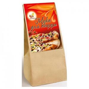Мука пшеничная цельнозерновая для пиццы 700гр крафт/п [Дивинка]