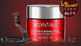 Отбеливающий лифтинг крем Secret key SYN-AKE anti wrinkle whitening cream