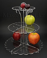 Подставка под торты, пирожные и другие кондитерские изделия. Тортница трехъярусная., фото 1