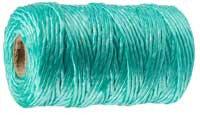 Шпагат ЗУБР многоцелевой полипропиленовый, зеленый, 1200текс, 500м