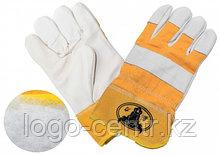Перчатки комбинированные на искусственном меху