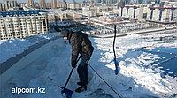 Уборка снега и наледи с крыши зданий
