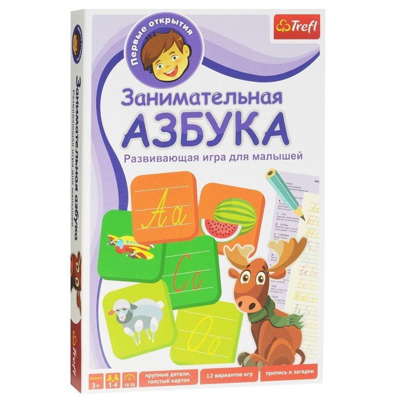 """Trefl Первые открытия """"Занимательная Азбука"""""""