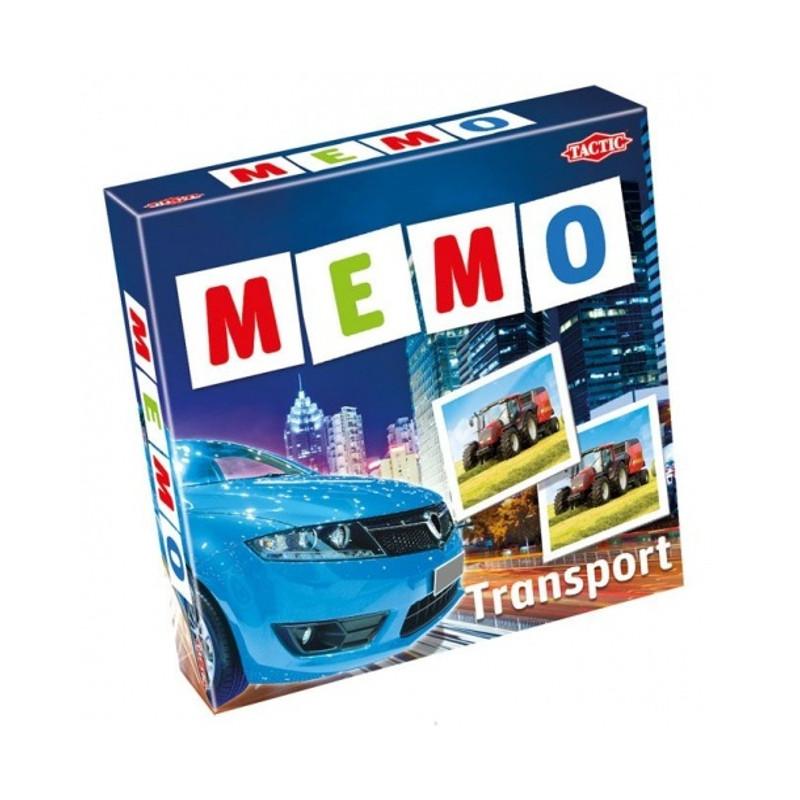 """Games Tactic Настольная игра """"МЕМО Транспорт 2"""""""