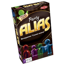 """Games Tactic Настольная игра """"Скажи иначе"""" Вечеринка компактная, Alias Party"""