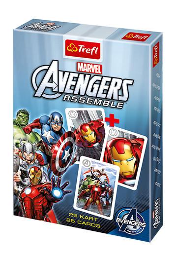 """Trefl Карточная игра """"Акулина"""" (25 карт) - Мстители"""