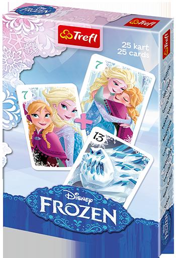 "Trefl Карточная игра ""Акулина"" (25 карт) - Холодное Сердце"