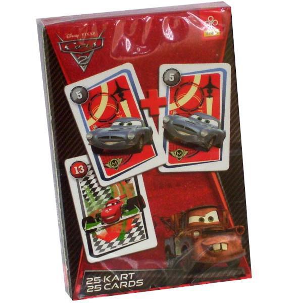 """Trefl Карточная игра """"Акулина"""" (25 карт) - Тачки 2"""