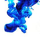 Galaxy WD-1/WD-2 Cian (синий) краска на водной основе DYE, фото 3