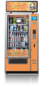 Торговый автомат для продажи электроники