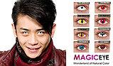 Карнавальные линзы Magic eye модель Black Wolf, фото 2