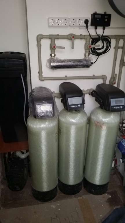 Система очистки воды до 1 м3/час