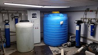 Система очистки воды с обратным осмосом
