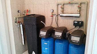 Установки систем очистки воды любой производительности для квартир и коттеджей  2