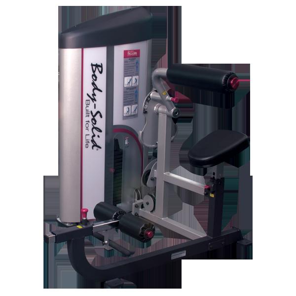 Тренажер для тренировки пресса\спины с весовым стеком 72,5 кг (S2ABB-1)