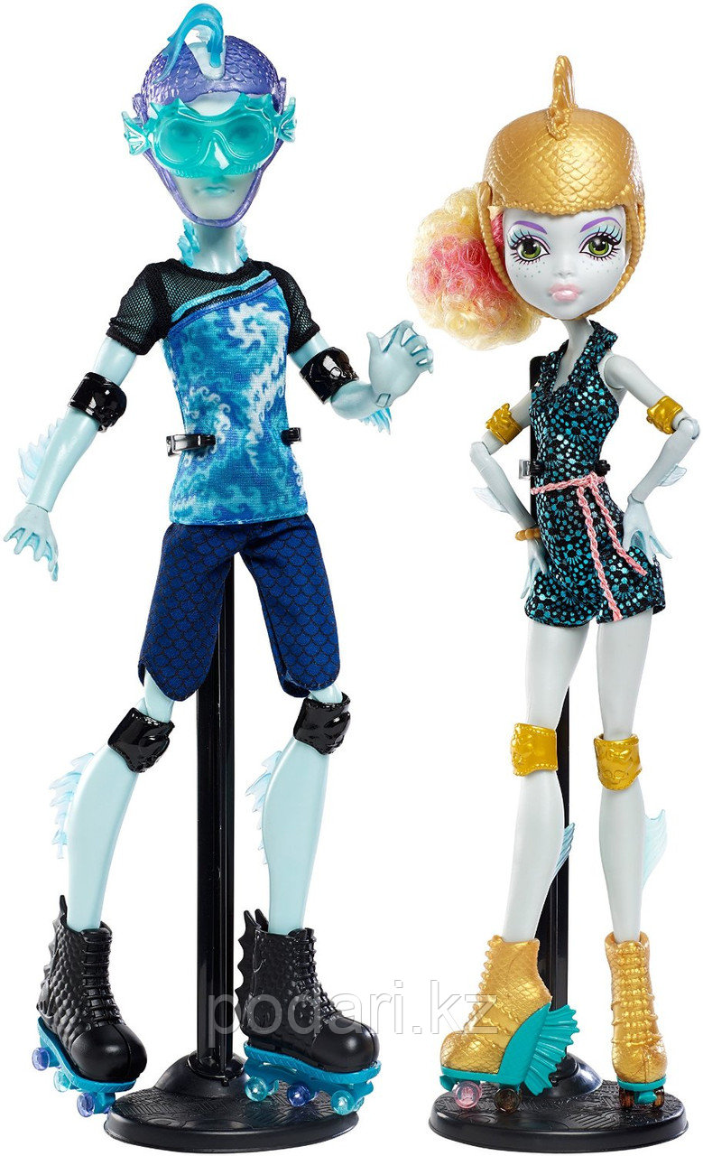 Monster High Гил и Лагуна, Lagoona Blue и Gil Weber - фото 8