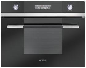Встраиваемая духовка с функцией микроволновки Smeg SC45MCNE2