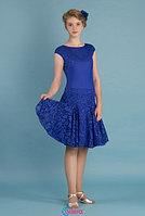 Платье спортивное для бальных танцев Р 7.5 Альера