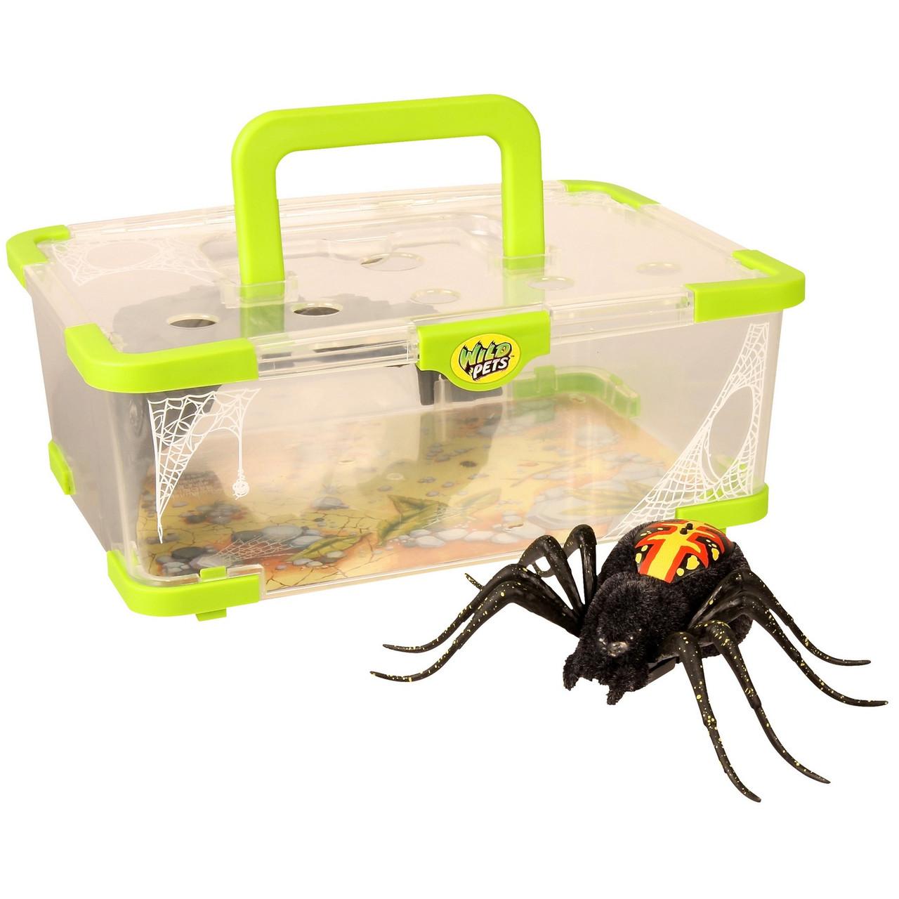"""Интерактивная игрушка Wild Pets """"Логово паука"""" (свет, движение)"""