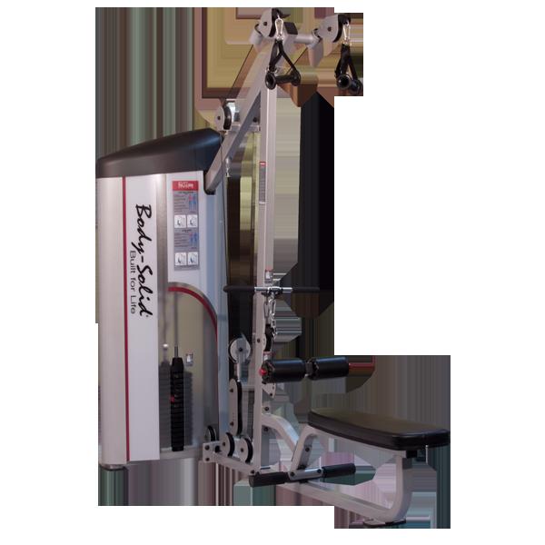 Верхняя и нижняя тяга с весовым стеком 72,5 кг (S2LAT-1)
