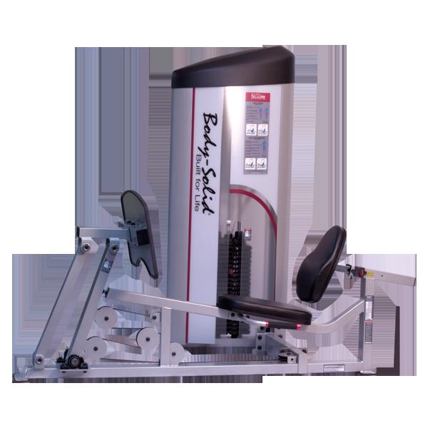 Горизонтальный жим ногами с весовым стеком 140 кг      (S2LPC-3)