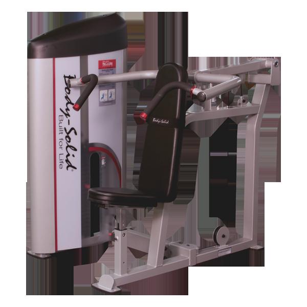 Вертикальный жим сидя с весовым стеком 140 кг  (S2SP-3)