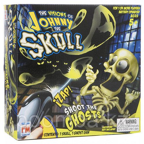"""Проектор Johnny The Skull с пистолетом """"Поймай всех призраков"""""""
