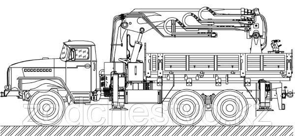 Внешний вид универсальной буровой машины УБМ-85