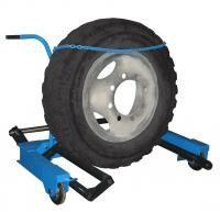 Тележка П-254 для снятия колес грузовых автомобилей