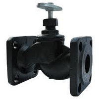 Вентиль (клапан) чугунный запорный проходной фланцевый 15кч19п Ду25 Ру16