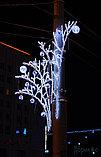 Новогодние уличные конструкции, арки, растяжки, мотивы, снежинки, звезды, консоли, конструкции, фото 2
