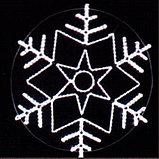Новогодняя уличная конструкция, арка, растяжка, мотивы, консоль, снежинка, звезда, конструкция, фото 2