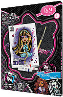 "D&M Роспись по холсту и украшение пайетками ""Клео"" ""Лагуна"" Monster High 18 х 24 см"