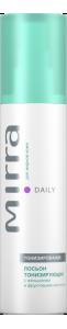 MIRRA Лосьон тонизирующий (тоник) для жирной кожи с женьшенем и фруктовыми кислотами