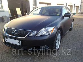 Lexus GS и черн.матовая пленка