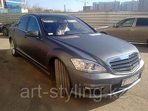 Mercedes-Benz S-Class (W221), матовая бесцветная пленка
