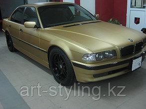 BMW и золотой 3d карбон
