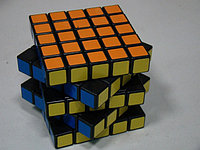 Кубик 5го порядка 5х5х5 с гранями черного и белого цветов от компании QJ