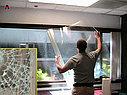 Укрепление стекол ударопрочной (защитной) пленкой, фото 5