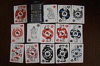 Мафия. Набор карт. Настольная игра. Магеллан