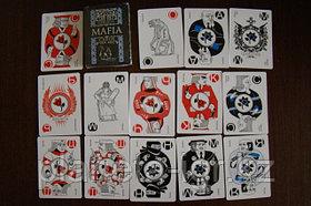 Мафия. Пластиковые карты. Настольная игра. Магеллан