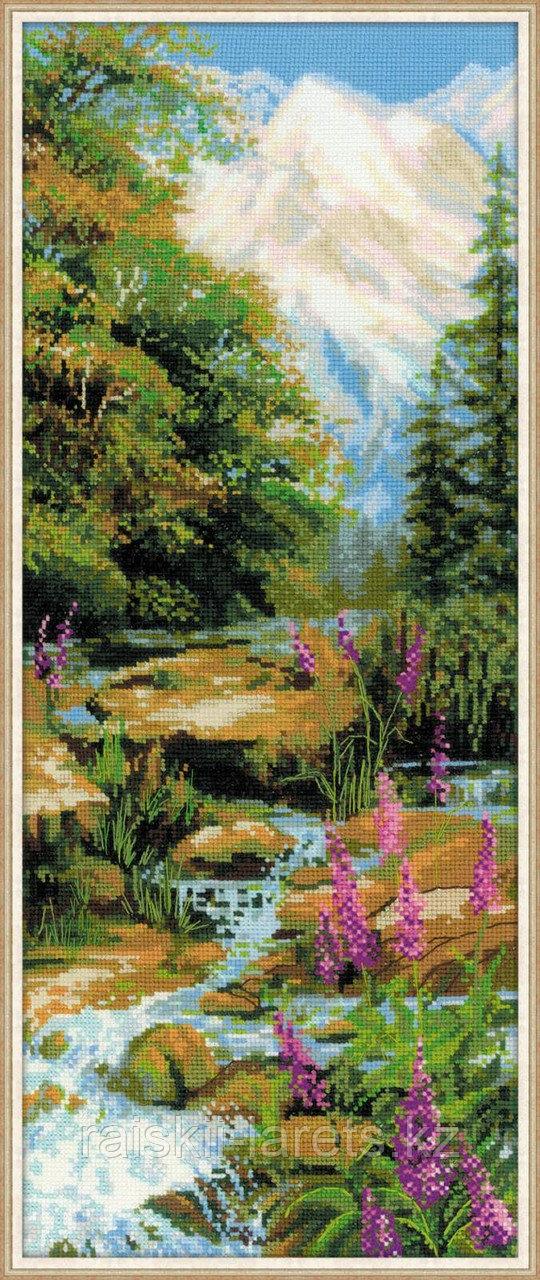 """Набор для вышивки крестом """"Горный ручей"""" 1487"""