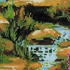 """Набор для вышивки крестом """"Горный ручей"""" 1487, фото 3"""