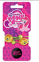"DAISY DESIGN Набор резинок для волос My Little Pony ""Эпплджэк"" (2 шт.), фото 1"