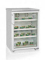 Холодильная витрина  для икры БИРЮСА - 154Е (850*570*625 мм) белый