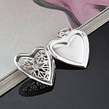 "Медальон на цепочке ""Сердечко"", фото 5"