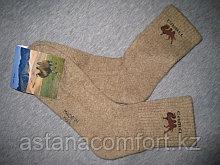 Монгольские носки из верблюжьей шерсти.