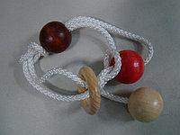 Головоломка Mini string puzzle Double Lock, Eurika