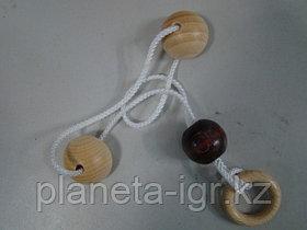 Головоломка Mini string puzzle Hemi-spheres, Eurika