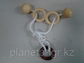Головоломка Mini string puzzle Spectacles, Eurika